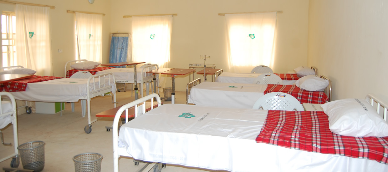 Renovated Primary Healthcare Center at an LGA